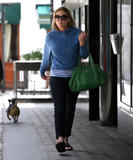 Patsy Kensit out and about in central London 23.6.08