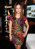 Rachel Bilson attends TRESemme Hair Salon & Lounge at Mercedes-Benz Fashion Week Spring 2010 in New York - Hot Celebs Home