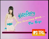Katy Parry's Legs - MTV TRL