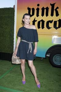 Milla Jovovich Just Jared Summer Fiesta in West Hollywood 07-12-2014
