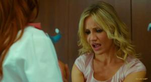 Cameron Diaz and Christine Smith nude scene