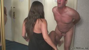 Femdom Army: Alexis teases and humiliates her pain slut