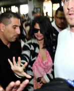 th 185209184 SG1 122 542lo Selena Gomez *BRA SLIP*, arriving at an airport in Buenos Aires   10/2/12