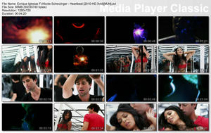 Enrique Iglesias feat. Nicole Scherzinger - Heartbeat Webrip hd720p